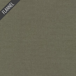 Shetland Fineline Stripe Flannel in Earth