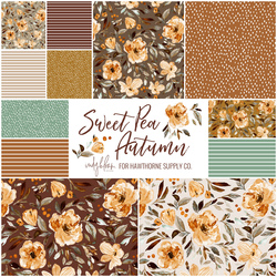 Sweet Pea Autumn Fat Quarter Bundle
