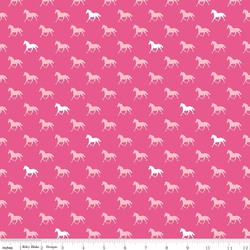Horses Knit in Pink