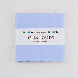 Bella Solids Charm Pack in Baby Blue