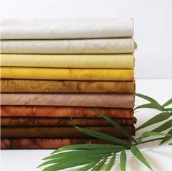 Lava Batik Solid Fat Quarter Bundle in Golden Brown