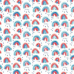 Rainbows in White