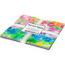 "Garden Gloss Sateen 10"" Square Pack"