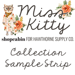 Miss Kitty Sample Strip