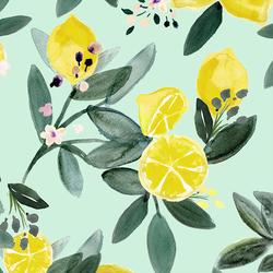 Large Lemon Grove in Mint